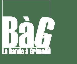 BàG. Logo 2014. blanc