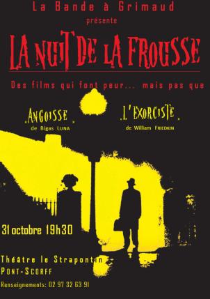 La nuit de la Frousse / Affiche