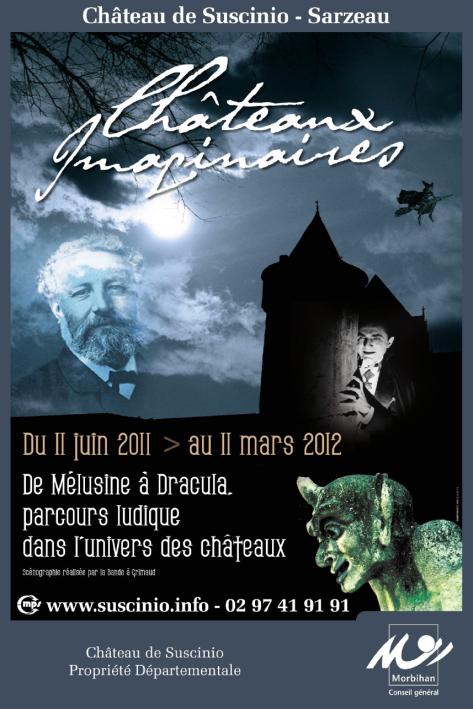Affiche Châteaux Imaginaires