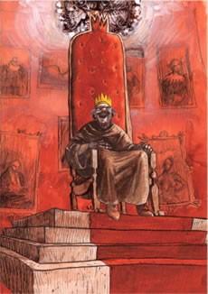 Le Rire du roi / illustration