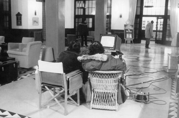 Stanley Kubrick et Jack Nicholson