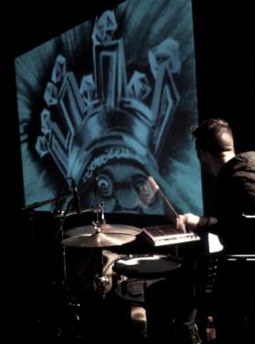 Tête dans la toile // Vincent Perrigault // Le Strapontin // 2014