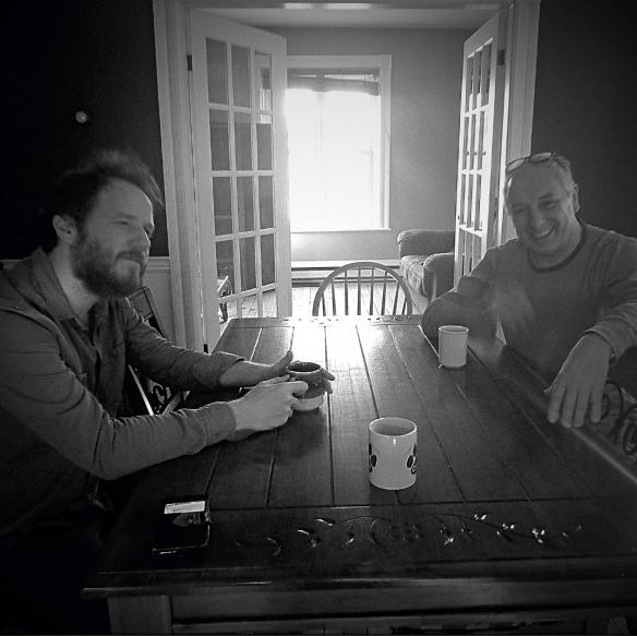 François Lavallée et Alberto Garcia-Sanchez Résidence d'écriture Sherbrooke- Mars 2017
