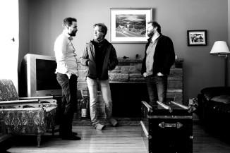 Achille Grimaud, Fre Pellerin et François Lavallée Résidence d'écriture à Saint-Élie-de-Caxton - Février 2017